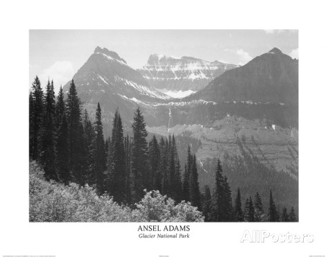 Ansel-adams-glacier-national-park-art-print-poster